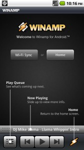Winamp 1.0 for Android